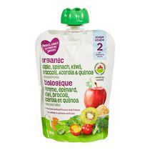 Parent's Choice Organic Strained Apple, Spinach, Kiwi, Broccoli with Quinoa
