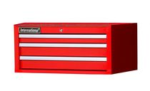 "International 27"" 3 Drawer Intermediate Chest, Tech Series, Red"