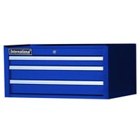 "International 27"" 3 Drawer Intermediate Chest, Tech Series, Blue"
