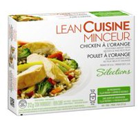 LEAN CUISINE® Selections Chicken À L'Orange Vegetable Medley with Brown and Rice Pilaf