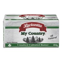 Lactantia® My Country Swiss Flavour Unsalted Cultured Butter