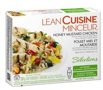 LEAN CUISINE® Honey Mustard Chicken whole Grain Rice and Vegetables in Creamy Cheese Sauce