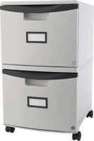 Storex 2-Drawer Filing Cabinet