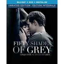 Fifty Shades Of Grey (Blu-ray + DVD + Digital HD) (Bilingual)