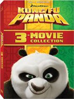 Kung Fu Panda 3-Movie Collection: Kung Fu Panda / Kung Fu Panda 2 / Kung Fu Panda: Secrets Of The Masters (Bilingual)