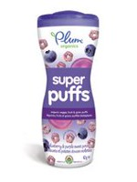 Plum® Organics Super Puffs Baby Snack - Blueberry & Purple Sweet Potato