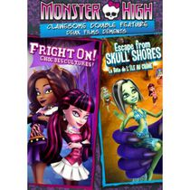 Monster High: Clawesome Double Feature - Escape From Skull Shores / Fright On! (Bilingual)
