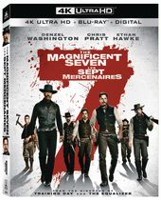 The Magnificent Seven (2016) (4K Ultra HD + Blu-ray + Digital HD) (Bilingual)