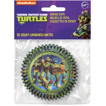 Caissettes Teenage Mutant Ninja Turtles de Wilton, paq. de 50