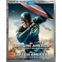 Captain America: The Winter Soldier (Blu-ray 3D + Blu-ray + Digital HD) (Bilingual)