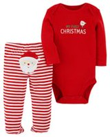 Child of Mine made by Carter's Infant Girls' Body Suit Pant Set-Christmas 6-9 months