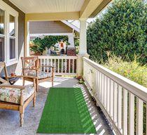 """Evergreen R250 Collection Non-Slip Rectangle Area Rug, 20"""" x 30"""", Green"""
