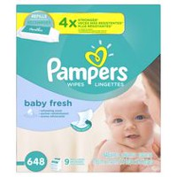 Pampers Baby Wipes Baby Fresh 9X Refill