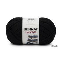 BERNAT COZY STYLE YARN (454G/16OZ), BLACK