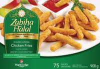 Zabiha Halal Breaded Cutlettes Chicken Fries