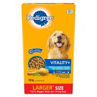 PEDIGREE® VITALITY+™ Roasted Chicken and Vegetable 20kg