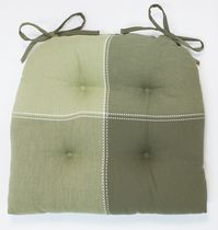 Home Trends Topstich Chairpad Green