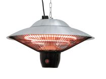 ENERG+ HEA-21544 Hanging Infrared Electric Outdoor Heater-Silver