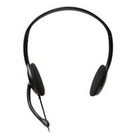 ec5f24d458a V7 V7 3.5mm Stereo Headset & Microphone for Music Streaming, Hands-Free  Voip, Skype, Video Conference on Tablets, Pc, Notebooks (HA201-2NP) - Black