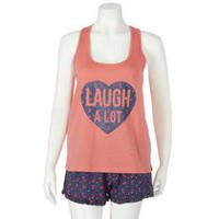 George Women's Tank & Shorts Sleep Set S