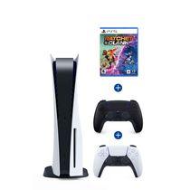 PlayStation 5 Console PLUS extra DualSense™ Wireless Controller – Midnight Black & Ratchet & Clank: Rift Apart (PlayStation 5)