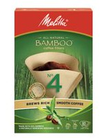 Melitta #4 Bamboo Coffee Filters