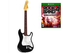 Rock Band 4 Wireless Fender Stratocaster Guitar Controller and Software Bundle - Xbox One