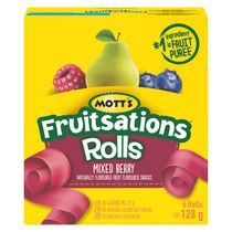 Mott's Fruitsations* Rolls - Mixed Berry