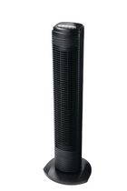 Sunbeam® 31'' Oscillating Tower Fan, Black