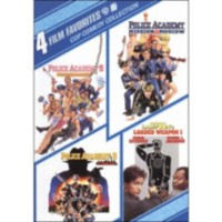 4 Film Favorites: Cop Comedy Collection - Police Academy 5: Assignment Miami Beach / Police Academy 6: City Under Siege / Police Academy: Mission To Moscow / National Lampoon's Loaded Weapon 1