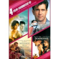 4 Film Favorites: Love Stories Collection - The Lake House / Message In A Bottle / Forever Young / Sommersby