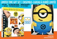 "Despicable Me 3 (Blu-ray + DVD + Digital Special Edition) (Walmart Exclusive - Plush ""Minion"" Backpack)"
