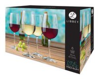 Libbey Wine & Dine Oversized Wine Glass Set