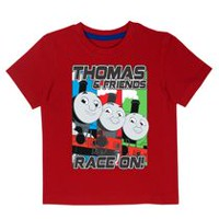 Thomas and Friends Boys' Short Sleeve T-shirt 4T