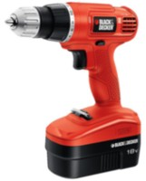 Perceuse/tournevis sans fil 18 V au NiCd Black & Decker