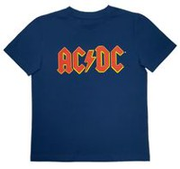 Boys ACDC Short Sleeve T-Shirt XS