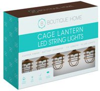 Boutique Home Cage Lighting String Lights