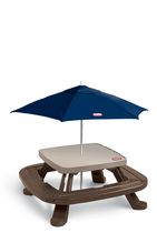 Little Tikes Fold n' Store Picnic Table with Market Umbrella