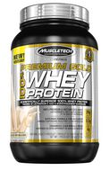 MuscleTech Pro Series Premium Gold 100% Whey Protein French Vanilla Crème Powder