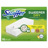 Swiffer Sweeper Dry Sweeping Refills with Febreze Sweet Citrus & Zest