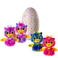 Hatchimals Surprise – Giraven – Œuf à faire éclore contenant deux jumeaux interactifs Hatchimal Surprise - Spin Master