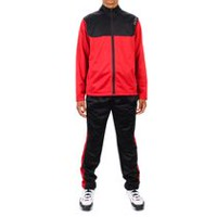 AND1 Men's 3 Point Player Tracksuit RIO RED 2XL