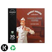 Keurig® Donut House Collection® Donut House® Café Torréfaction légère capsules K-Cup® recyclables