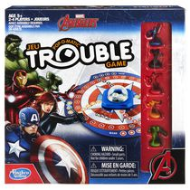 Marvel Avengers Pop-O-Matic Trouble Game