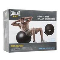 Ballon d'exercices Everlast résistant a l'éclatement de 65 cm