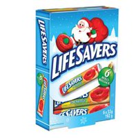 Lifesavers 5 Flavour Hard Candy Rolls