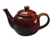 Stoneware 6-Cup Tea Pot