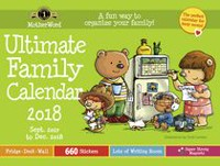 Grand calendrier familiale anglais ultime MotherWord