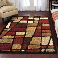 Orian Rugs Streetfair Shag Area Rug 3 ft. x 4 ft. approx