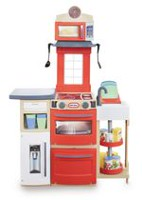Ensemble de jeu de cuisine Cook 'n Store de Little Tikes Rouge